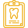 NCDental-icon_tooth+clipboard-yellow clear back